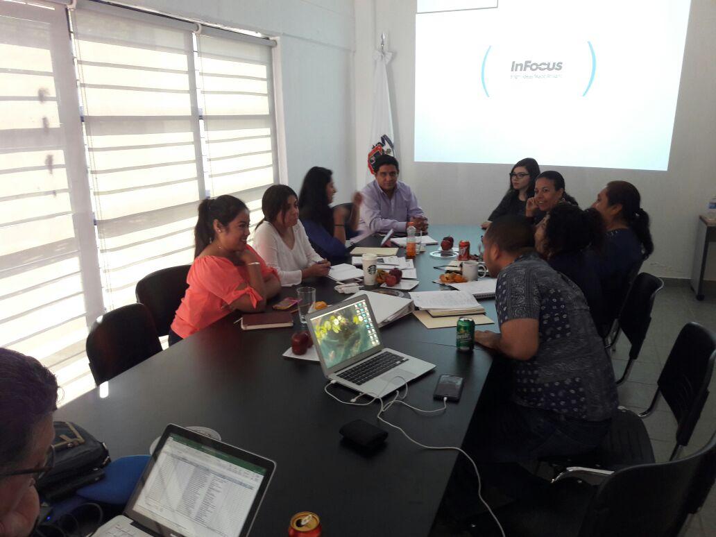 Reunión con profesores de la Prepa de Zacoalco