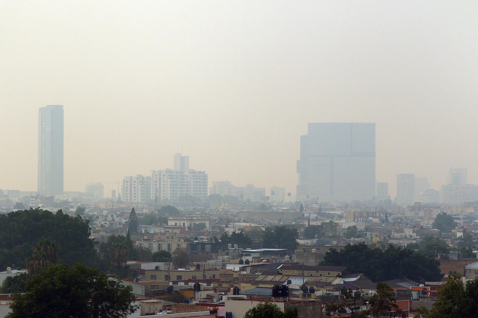 contingencia ambiental en la zona metropolitana de Guadalajara
