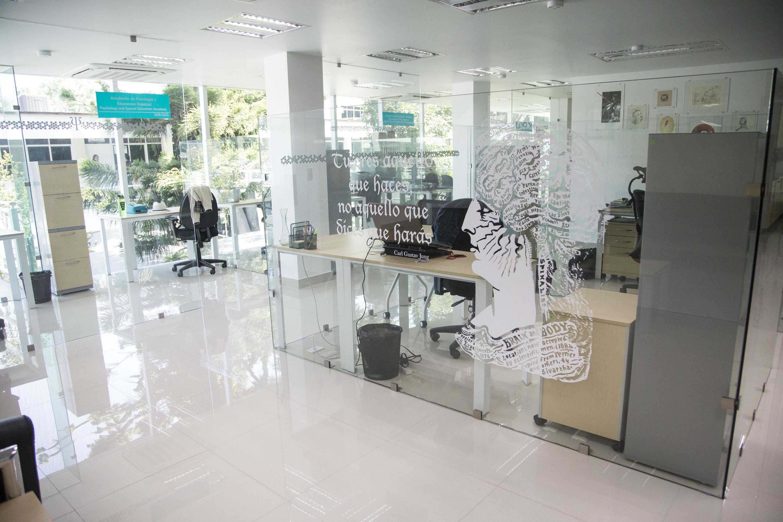 Interiores del Departamento de Psicología Aplicada