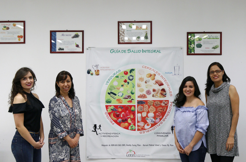 Equipo de nutriólogas que diseñó el nuevo plato del buen comer