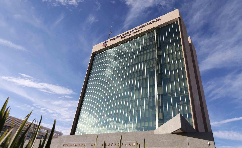 Edificio de Rectoría General, toma en perspectiva