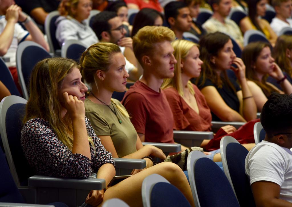 Estudiantes de movilidad entrante, aparecen algunos alumnos extranjeros