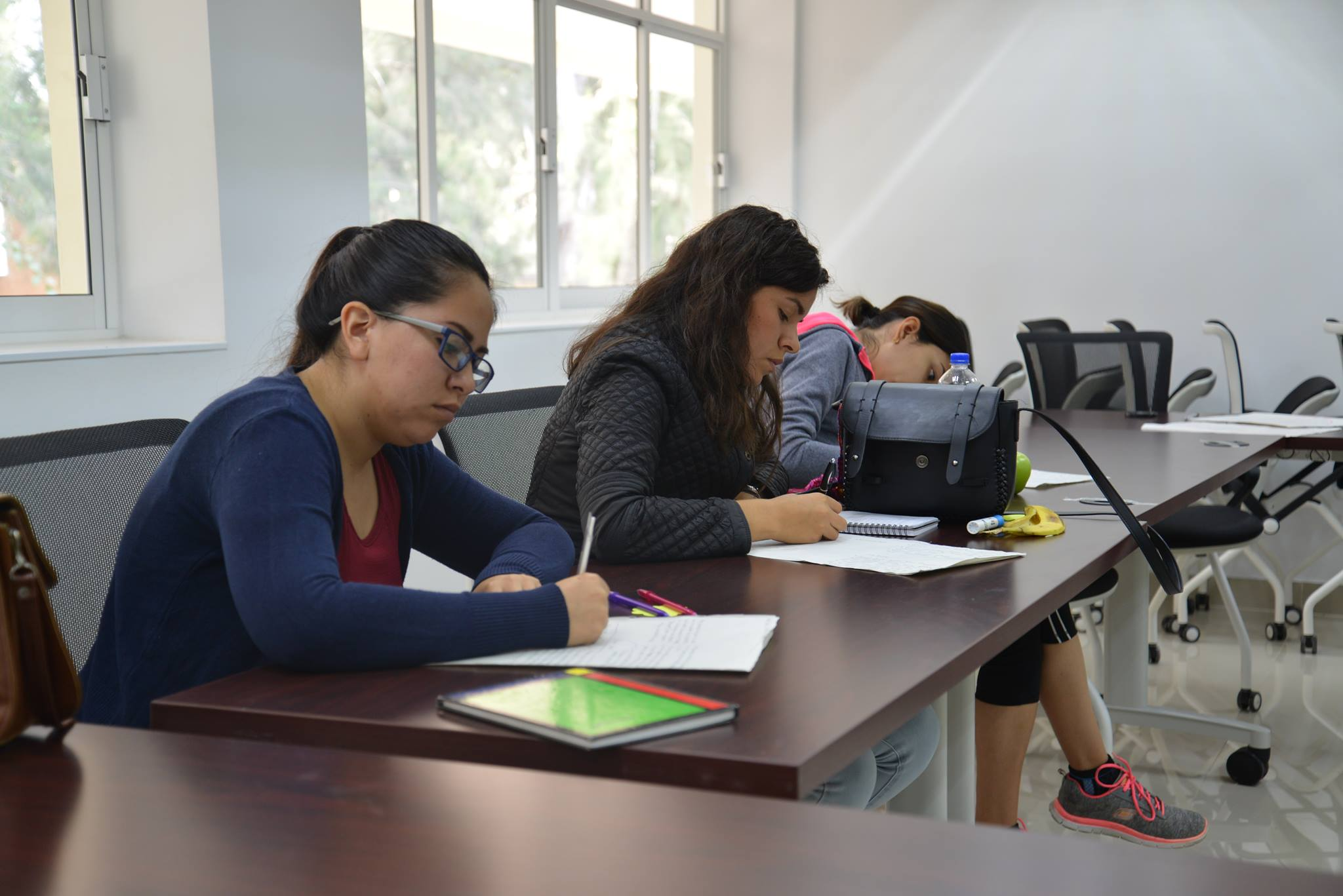 Alumnos tomando el Taller de Orientación Profesional