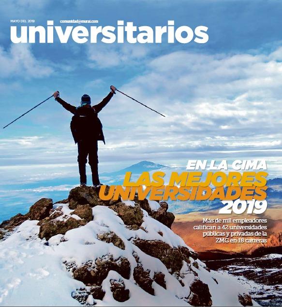 Portada Ranking Las Mejores Universidades 2019 del Periódico Mural