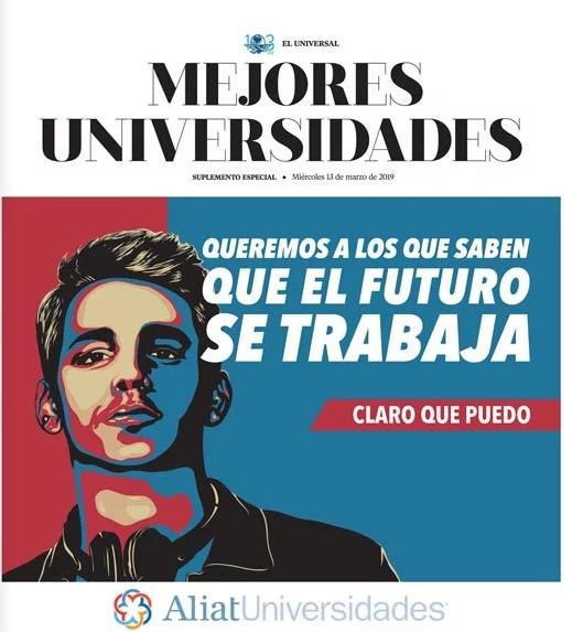 Portada Estudio Mejores Universidades del Periódico El Universal