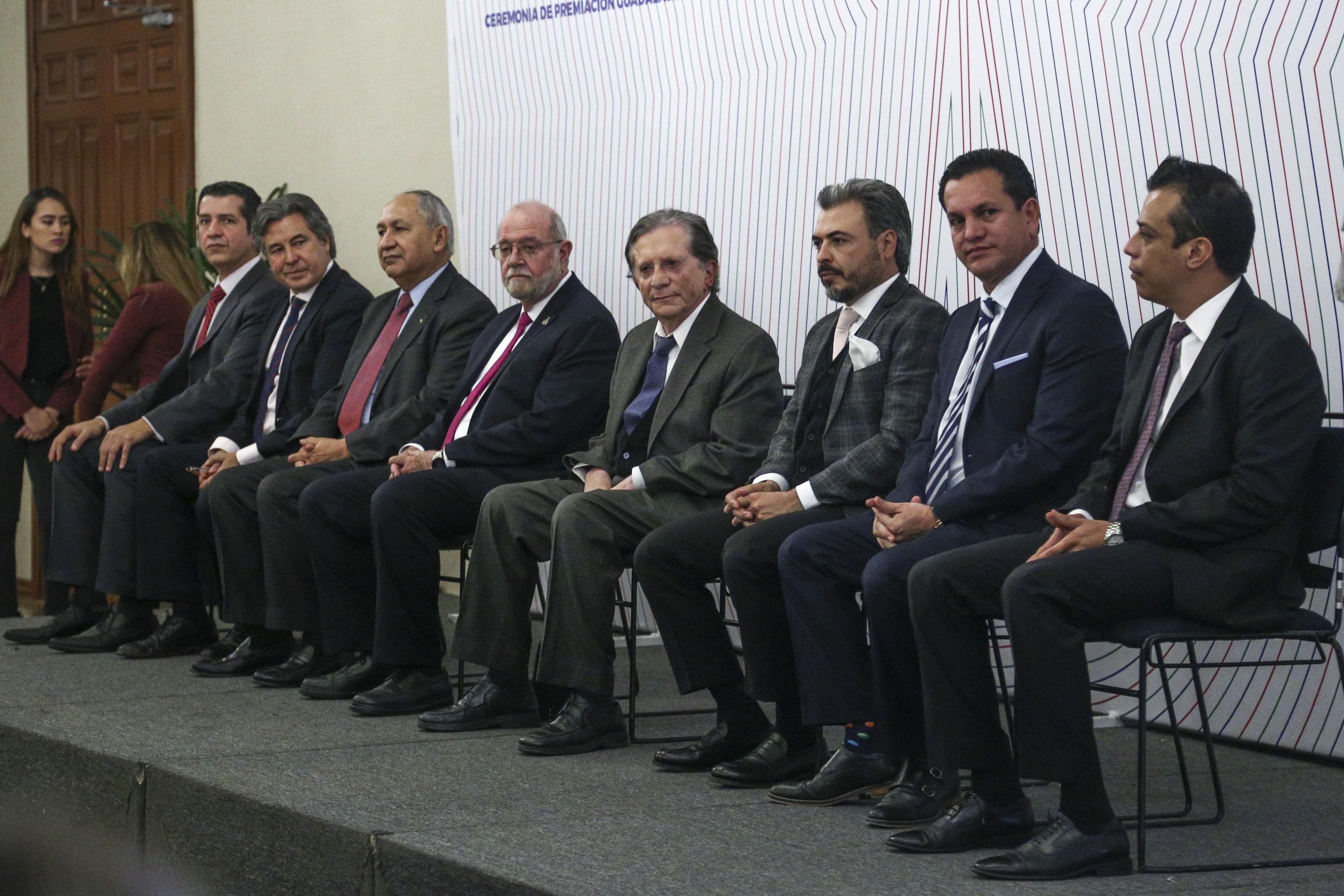 Miembros del presídium