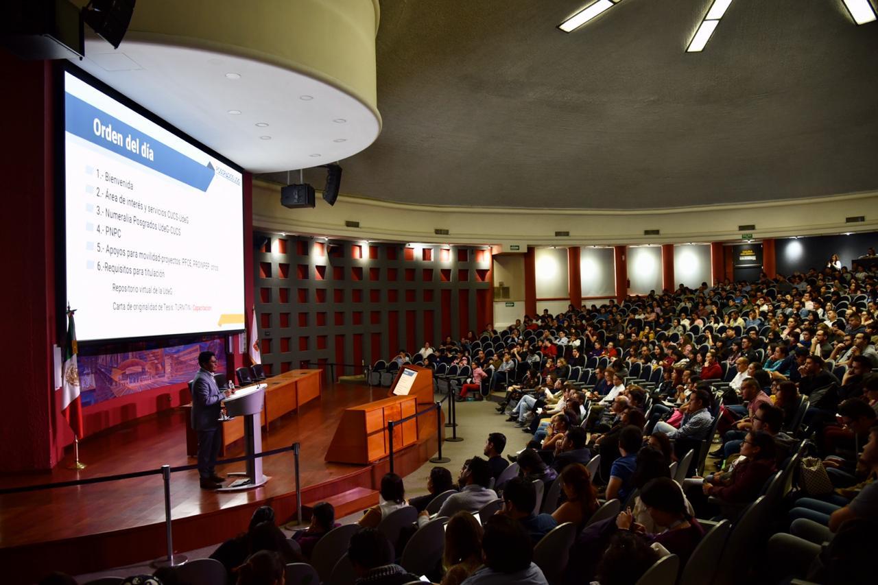 Vista general del auditorio