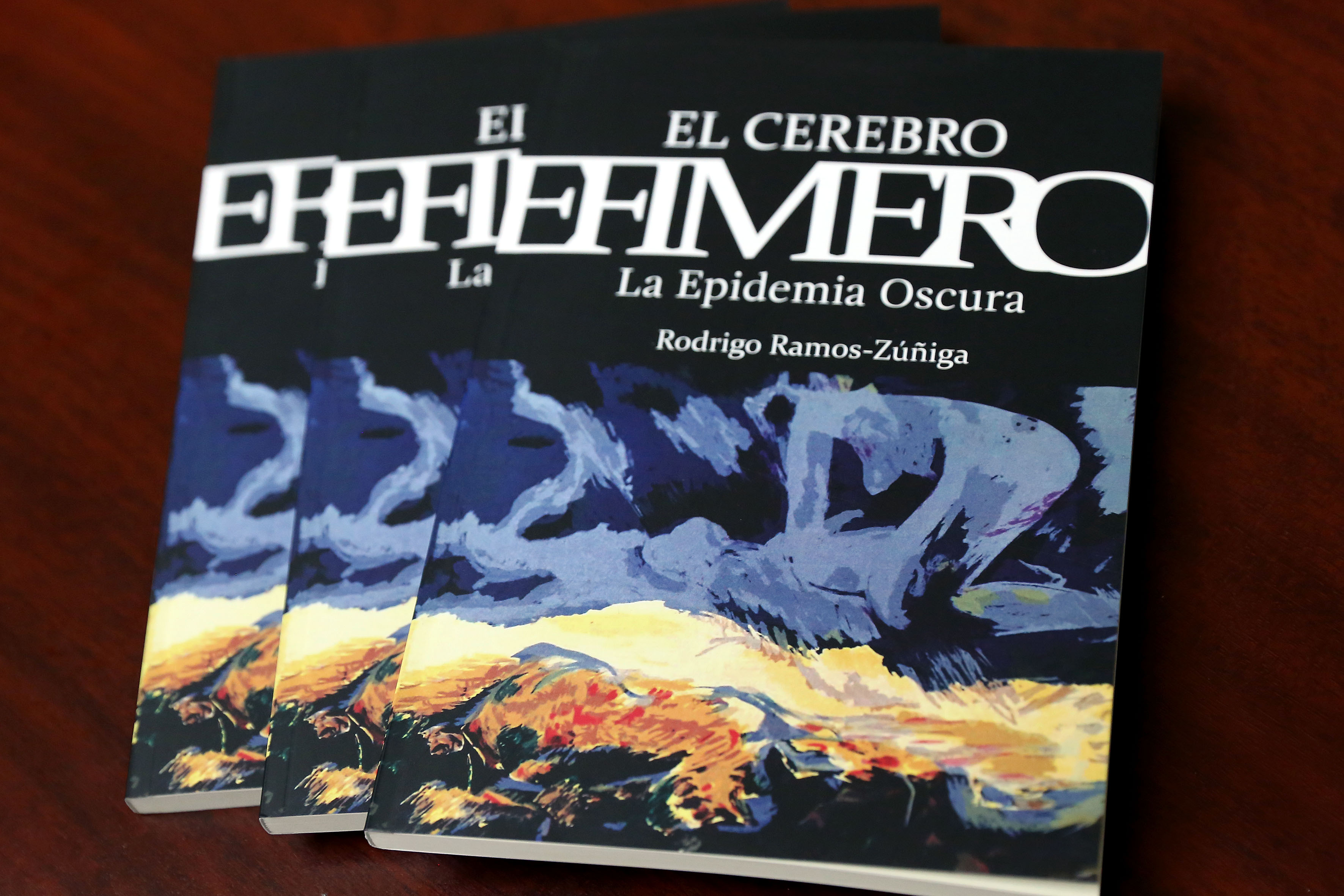 Foto de la portada del libro Cerebro Efímero