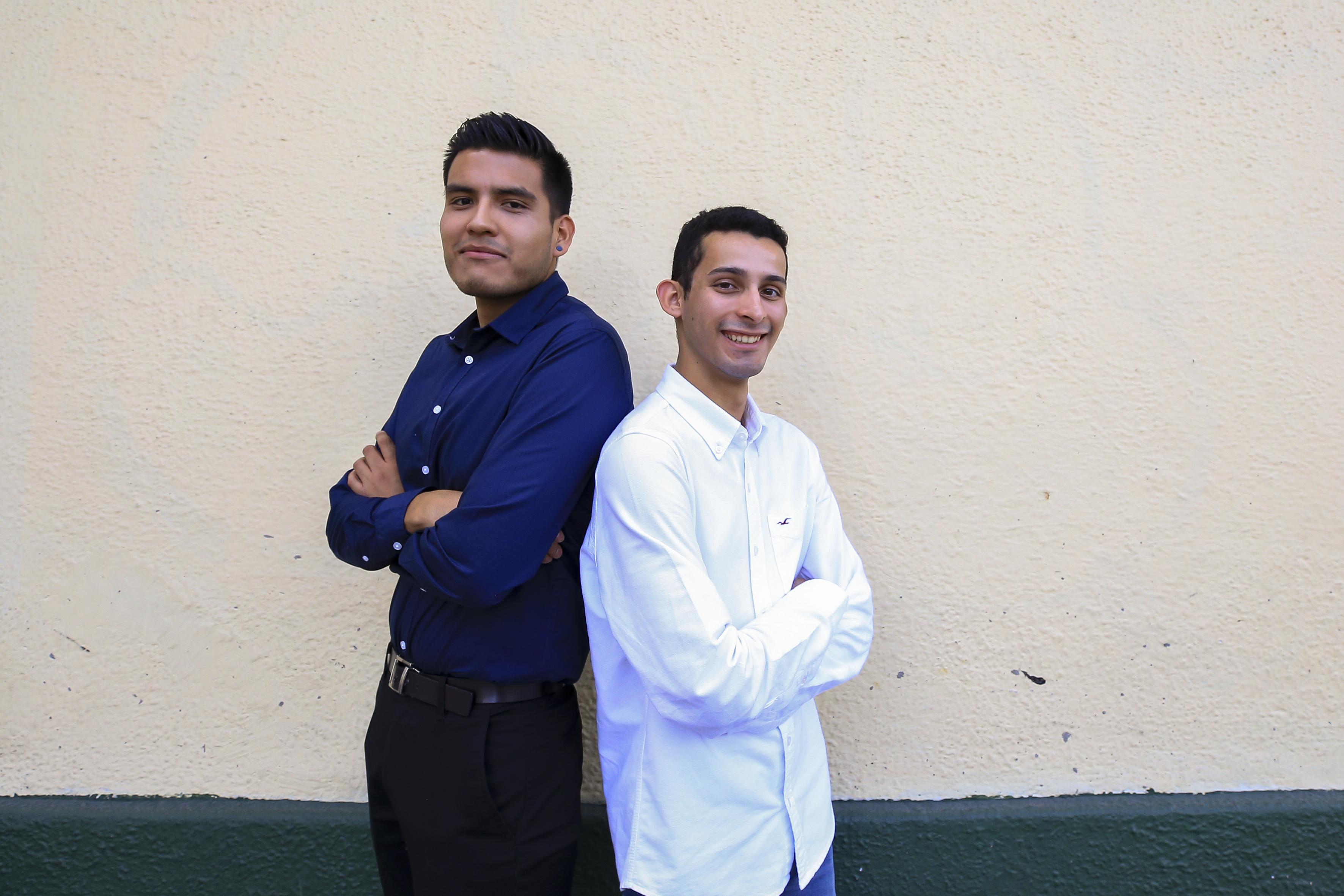 Noé Rosas y Demetrio Rodríguez estudiantes galardonados del CUCS