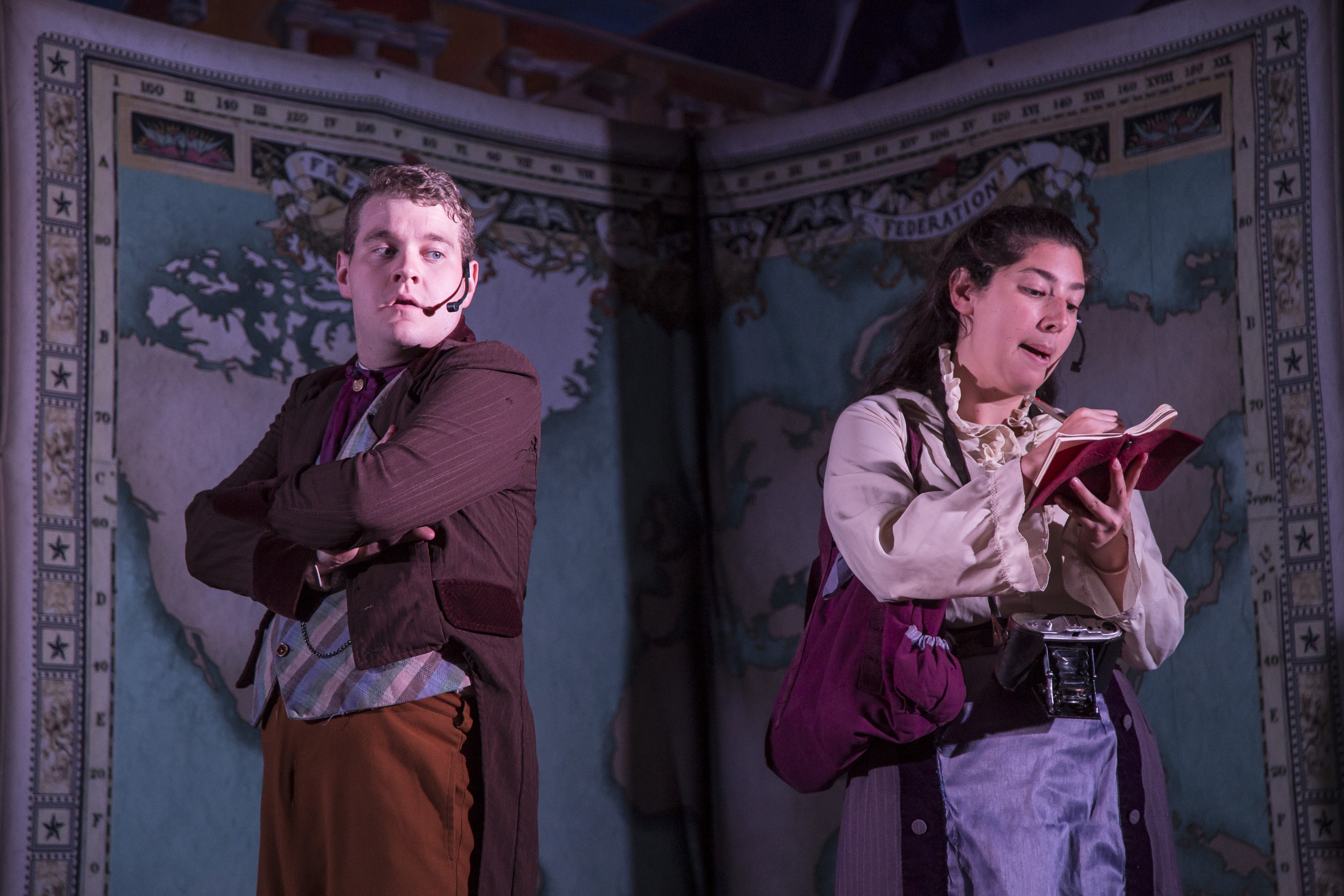 Actores en escena