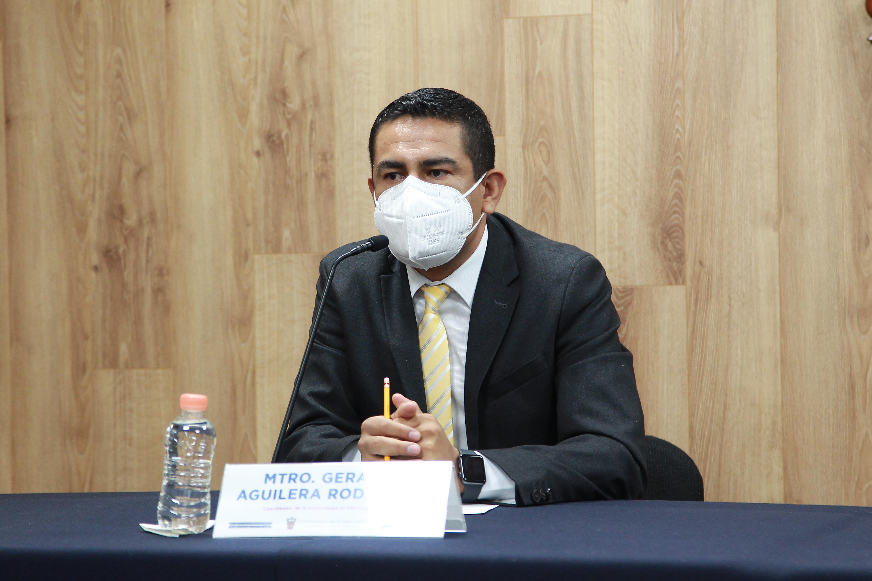 Foto individual del coordinador de la Licenciatura en Psicología del CUCS