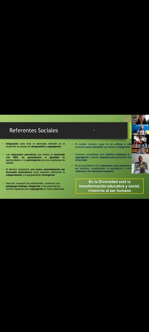 Diapositiva usada por el Dr. Israel Huerta