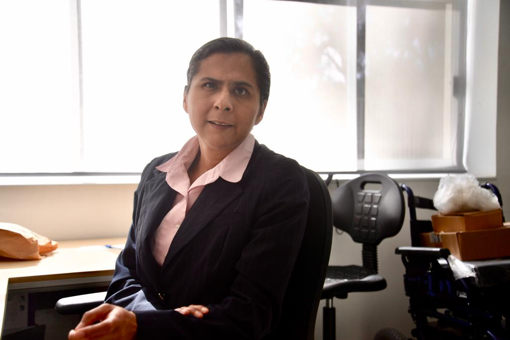 Maribel Flores, jefa de la Unidad de Inclusión