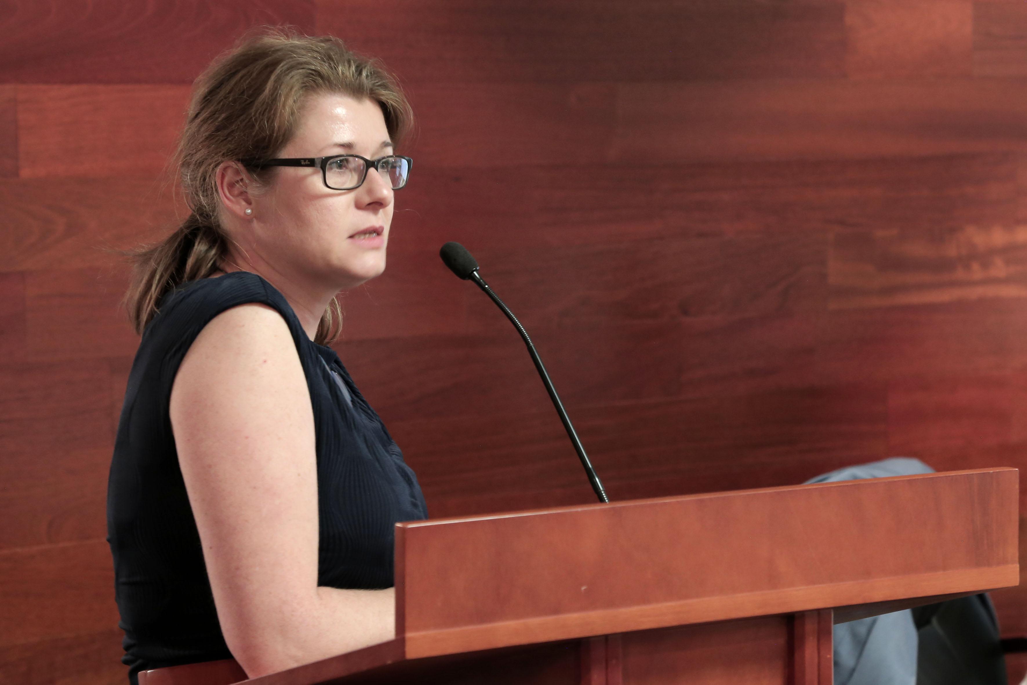 Andrea Degenkolbe, líder de las reclutadoras de la Agencia Federal de Empleo de Alemania