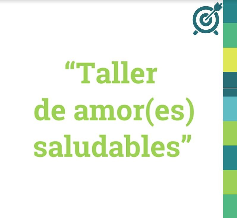 Banner promocional Taller Amores Saludables