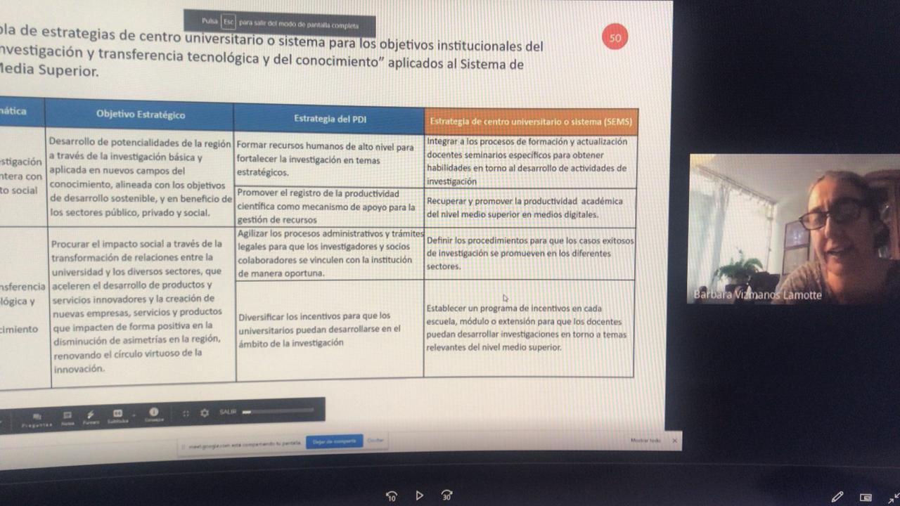 Diapositiva sobre Plan Estratégico
