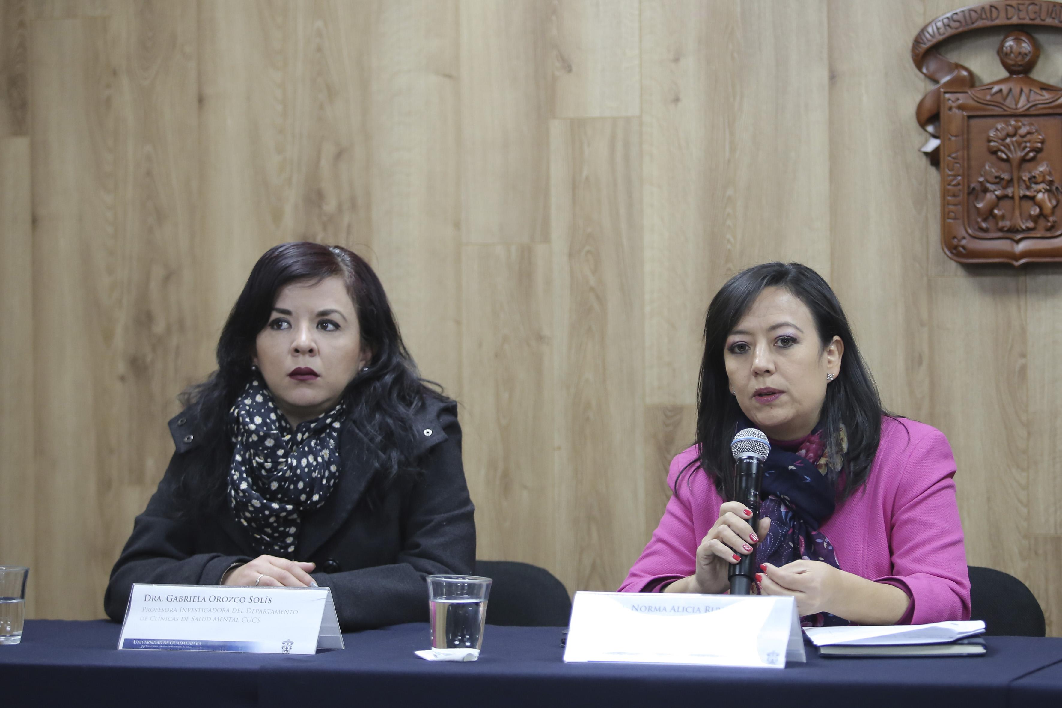 Dra Norma Ruvalcaba y Mtra Gabriela Orozco