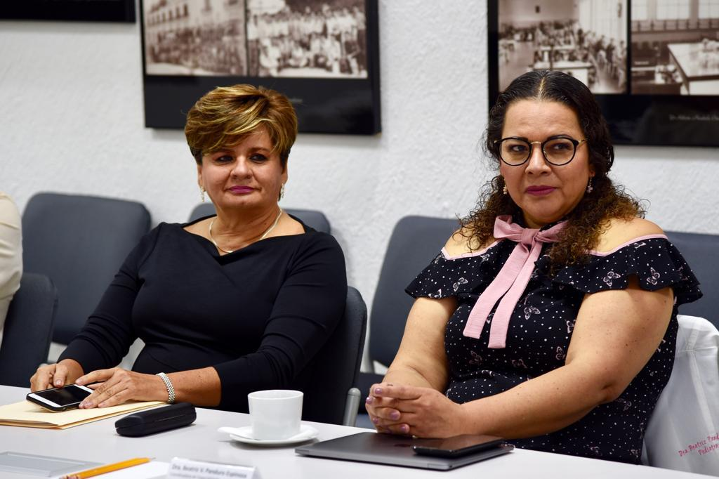Nuevas coordinadoras atentas durante la reunión