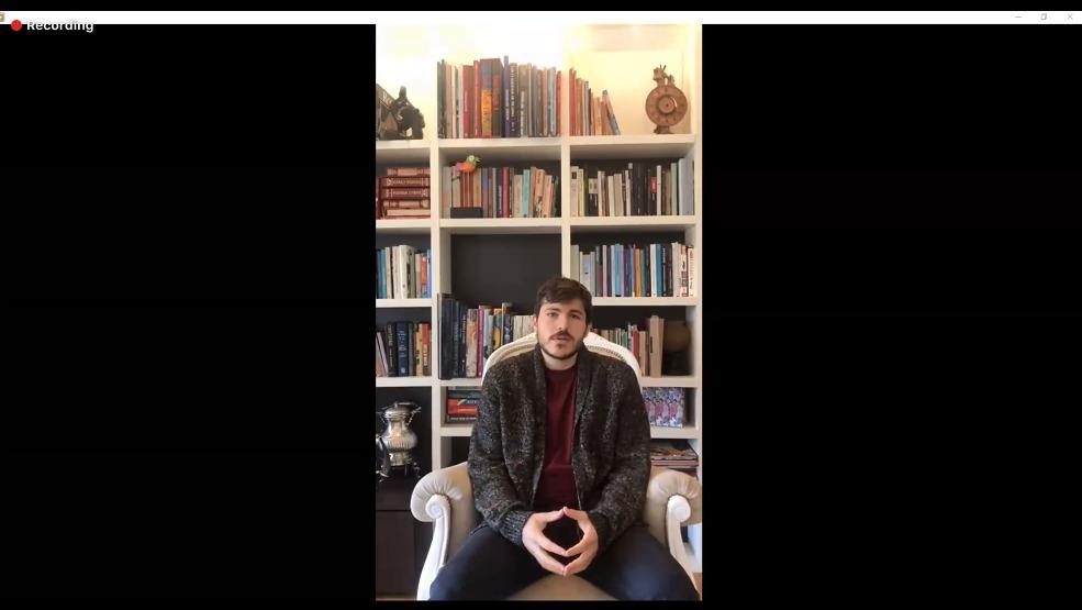 Captura de pantalla del video del Dr. Javier Álvarez Fernández