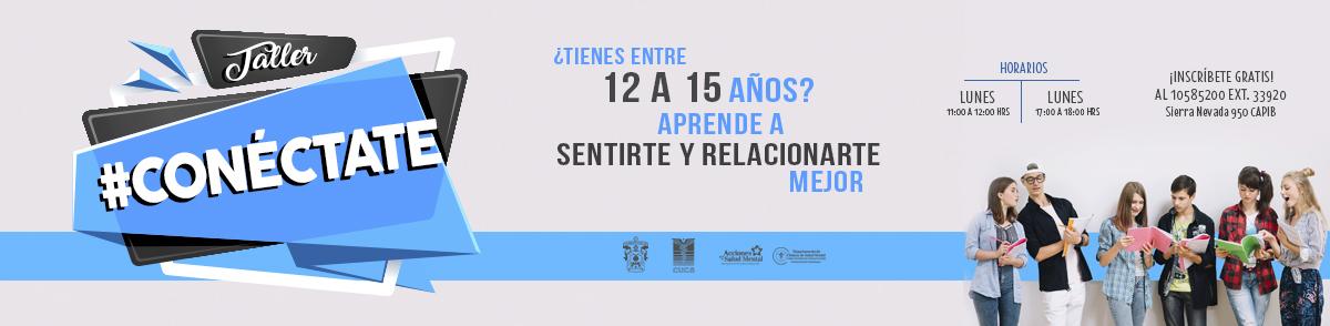 Banner promocional de #Conectate