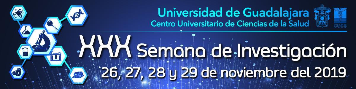 Banner publicitario de la Semana de Investigación Científica