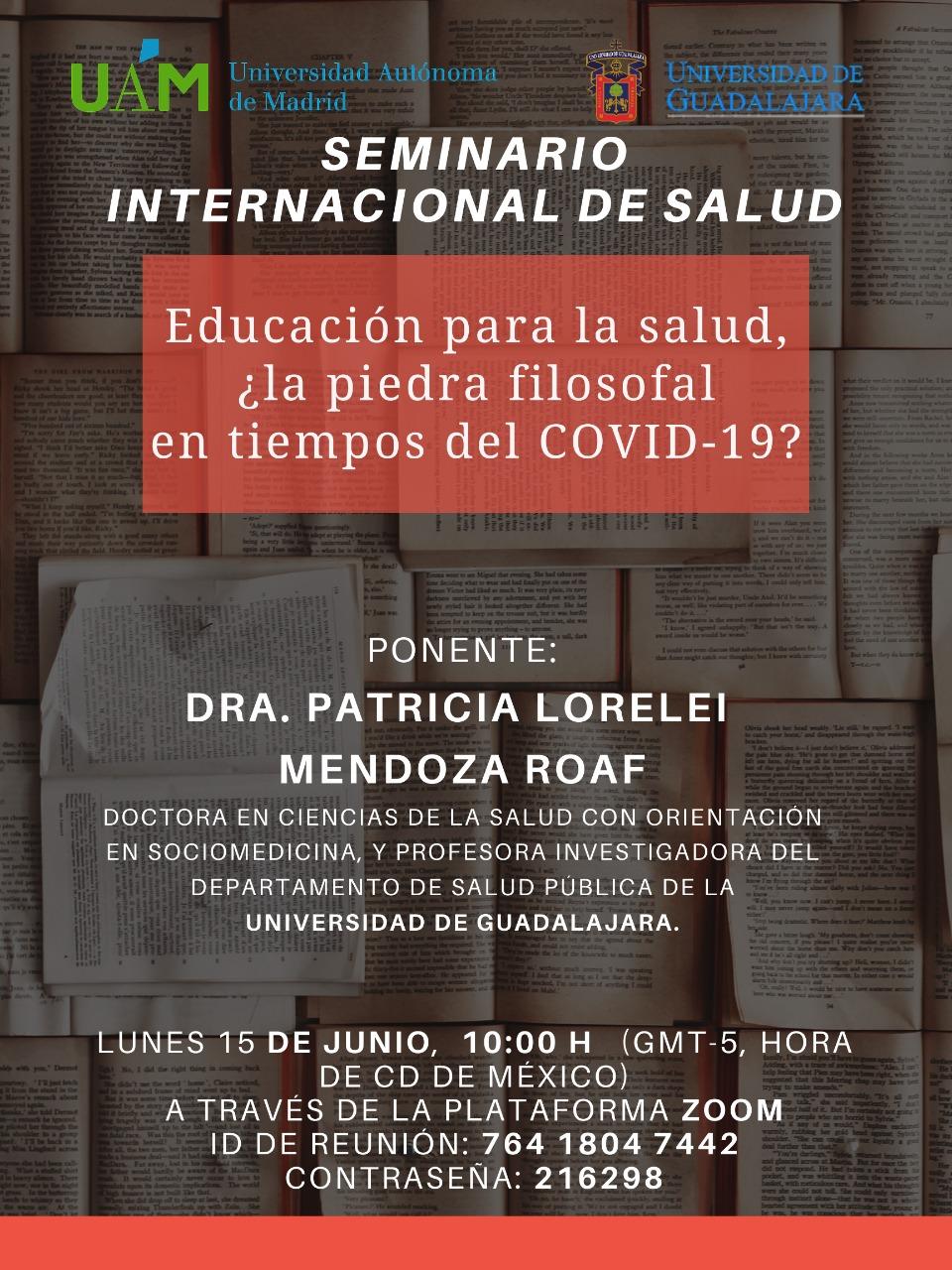 Banner promociona del seminario