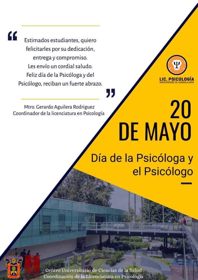 Banner promocional Día del Psicólogo