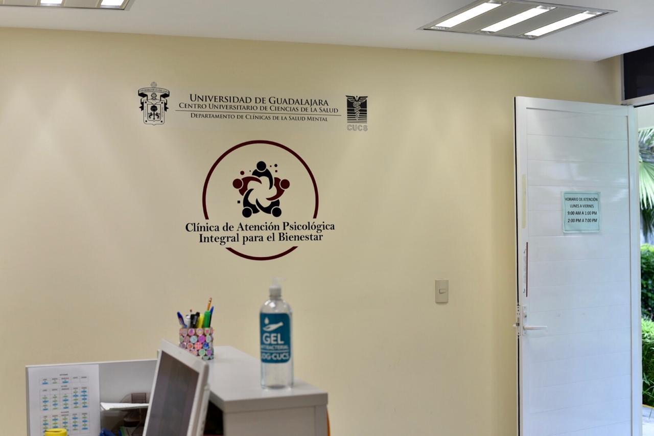Letrero CAPIB al interior de la clínica