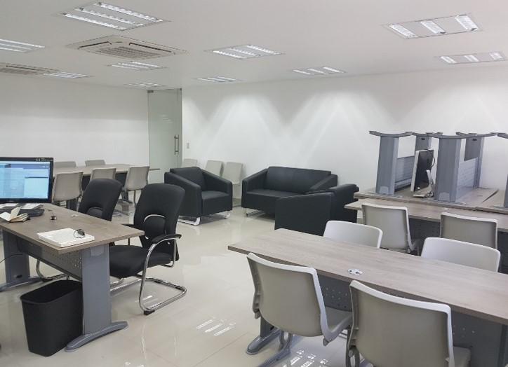 Vista del área de trabajo del CEINFO