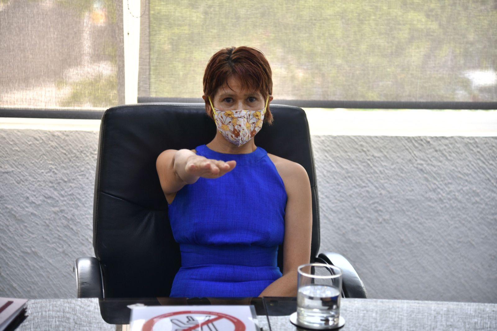 Dra. Melva Guadalupe Herrera Godina, Coordinadora del Comité de Sostenibilidad