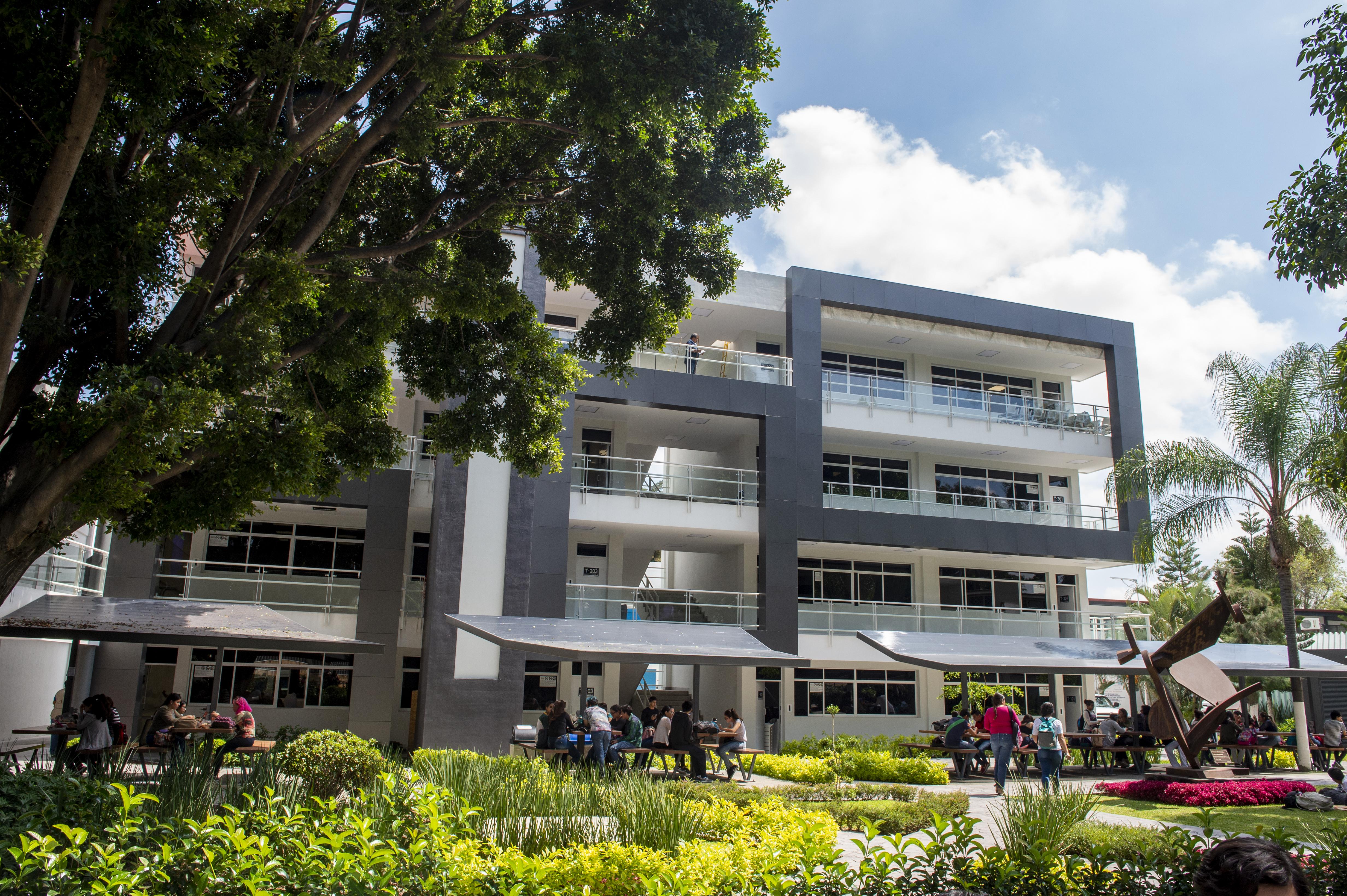Edificio nuevo de Nutrición