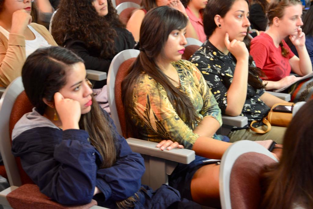 Alumnos asistentes al seminario