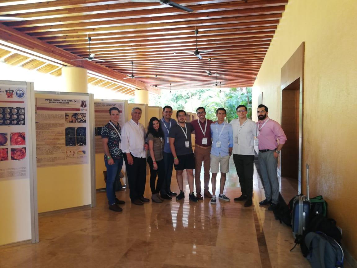 Miembros UdeG de la AANS y Dr. Rodrigo Ramos
