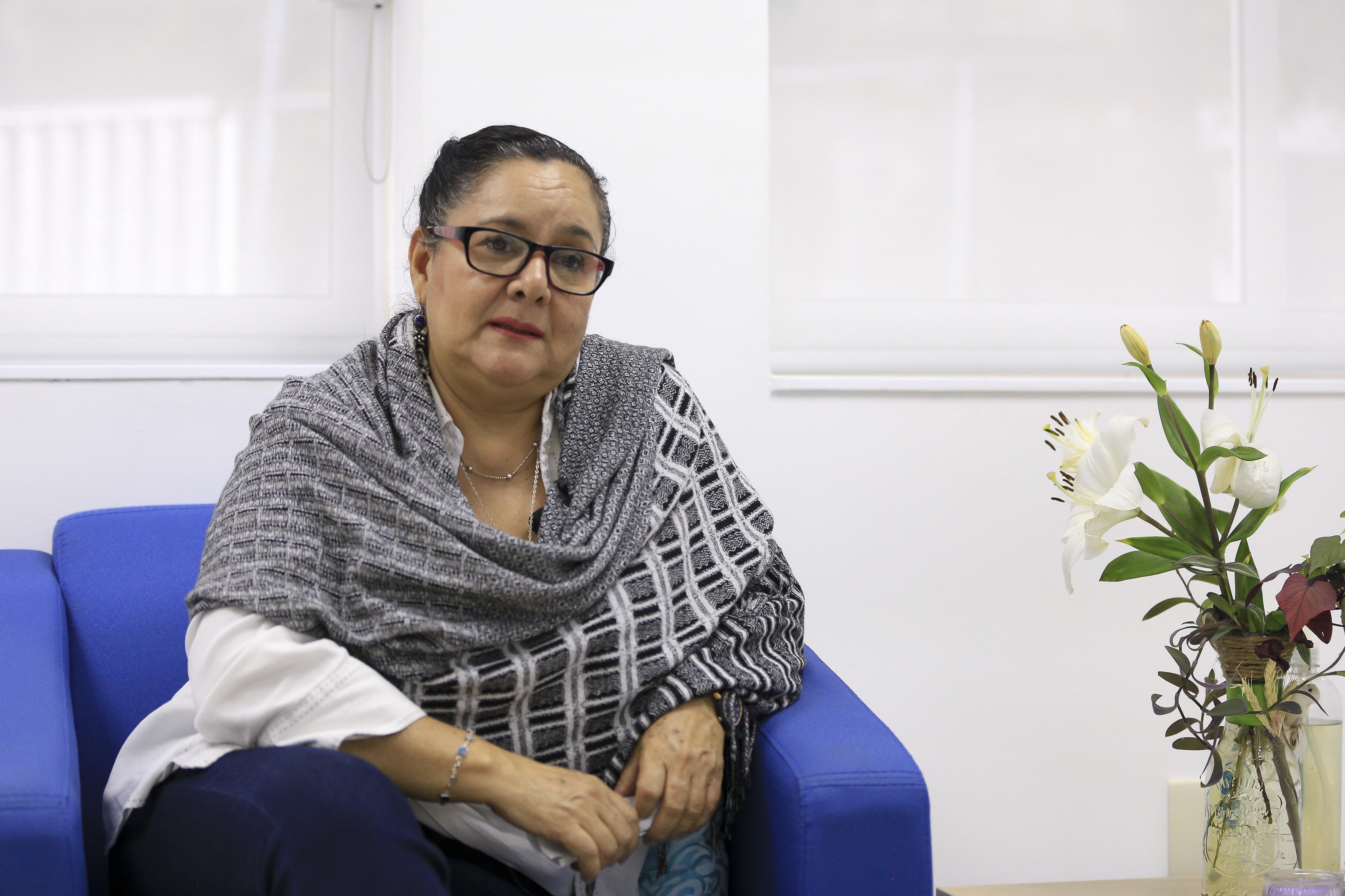 Dra. Guadalupe Covarrubias en entrevista
