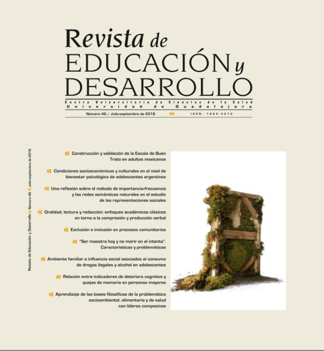 Portada No. 46 de la Revista Educación y Desarrollo
