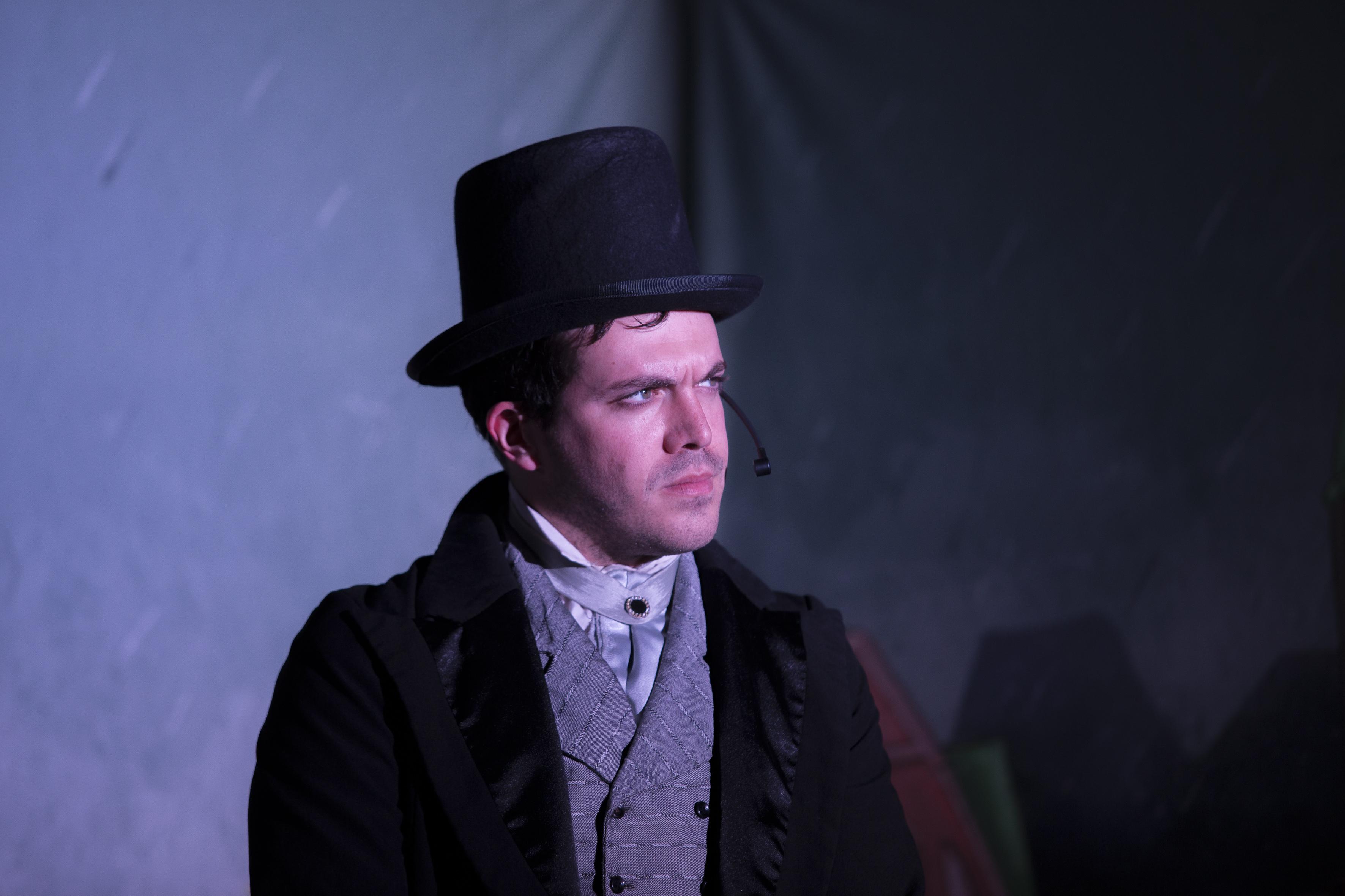 Actor en escena