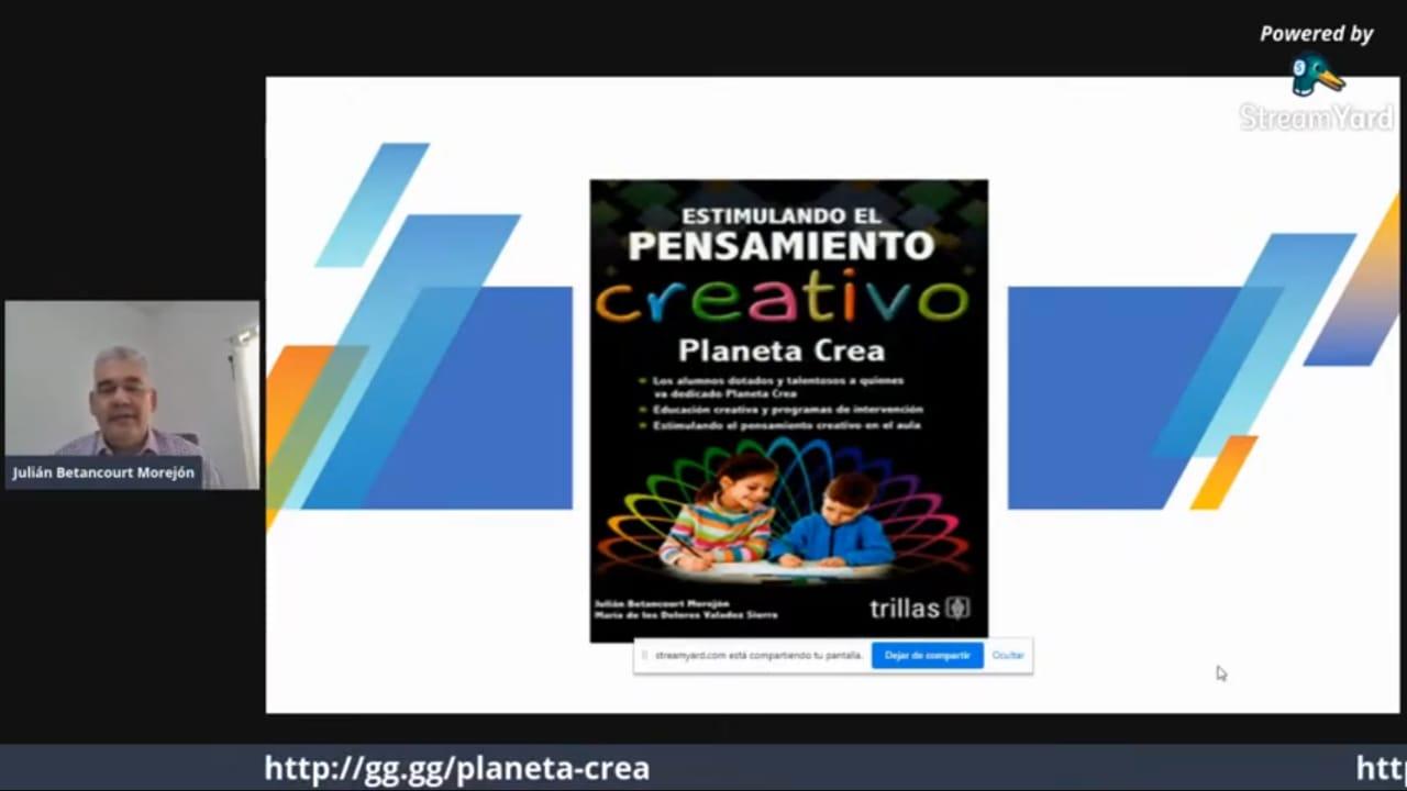 Captura de pantalla Dr. Julián Betancourt con diapositiva