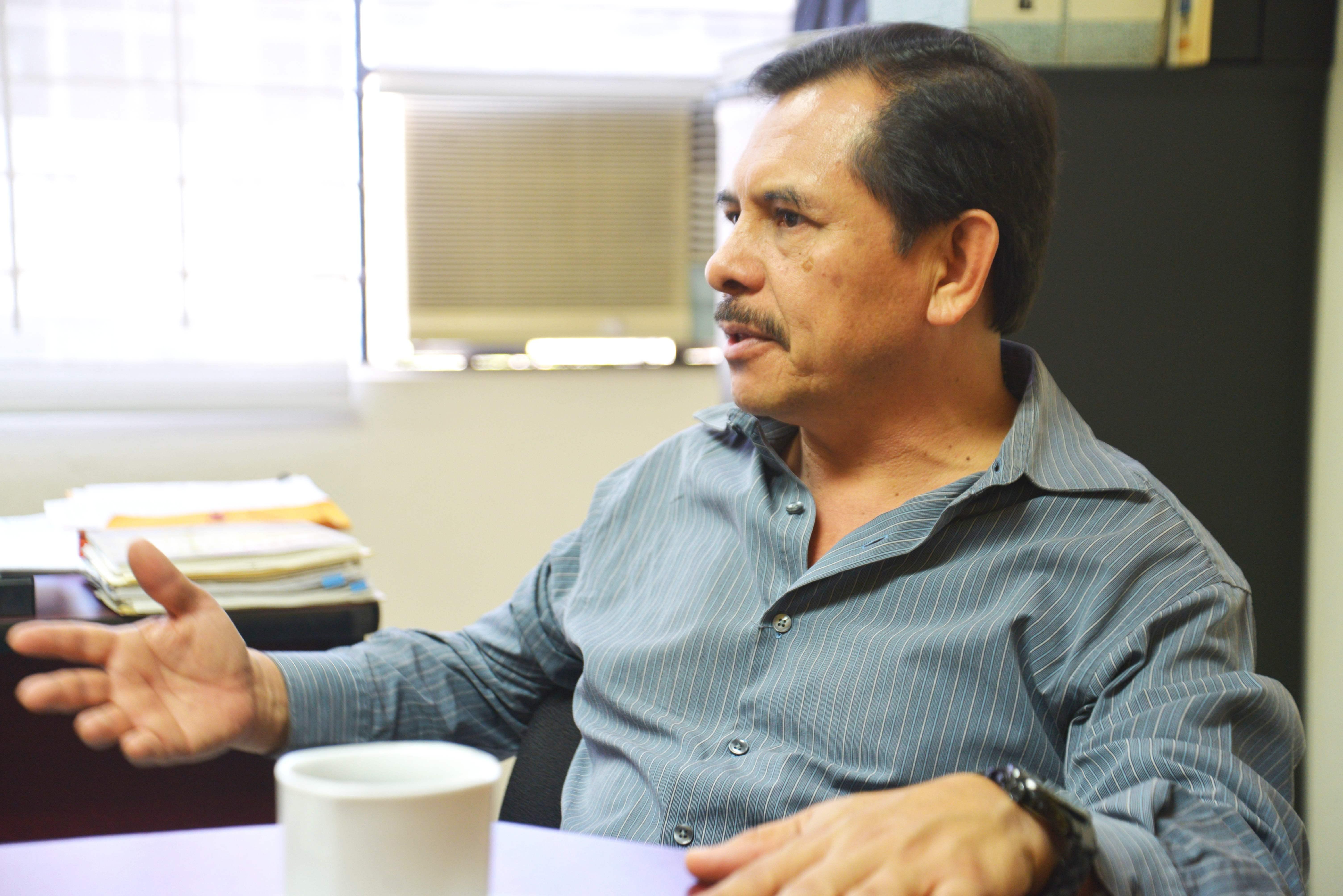 Mtro. Andrés Palomera en entrevista