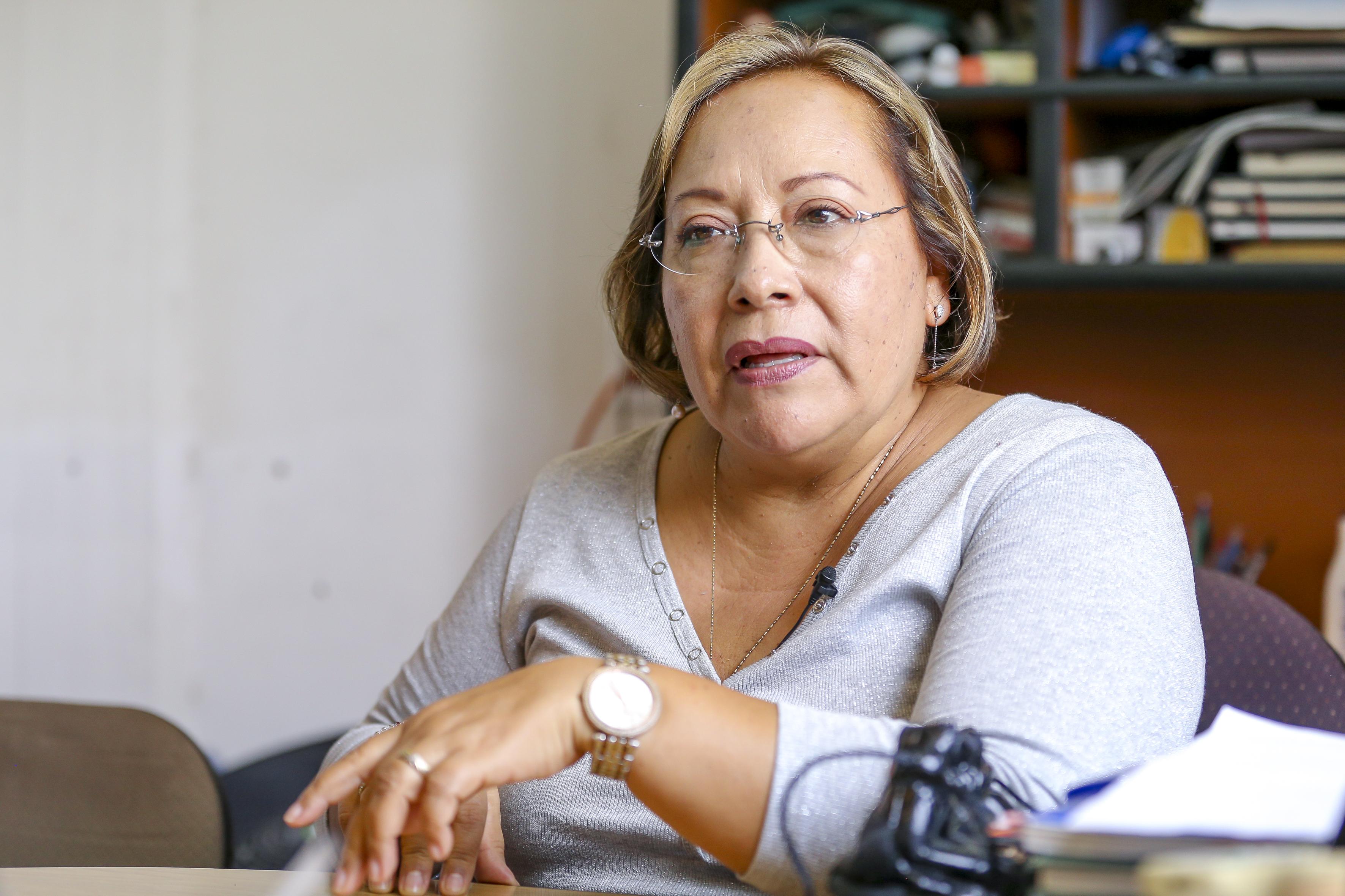 Dra María Luisa Mendoza en entrevista