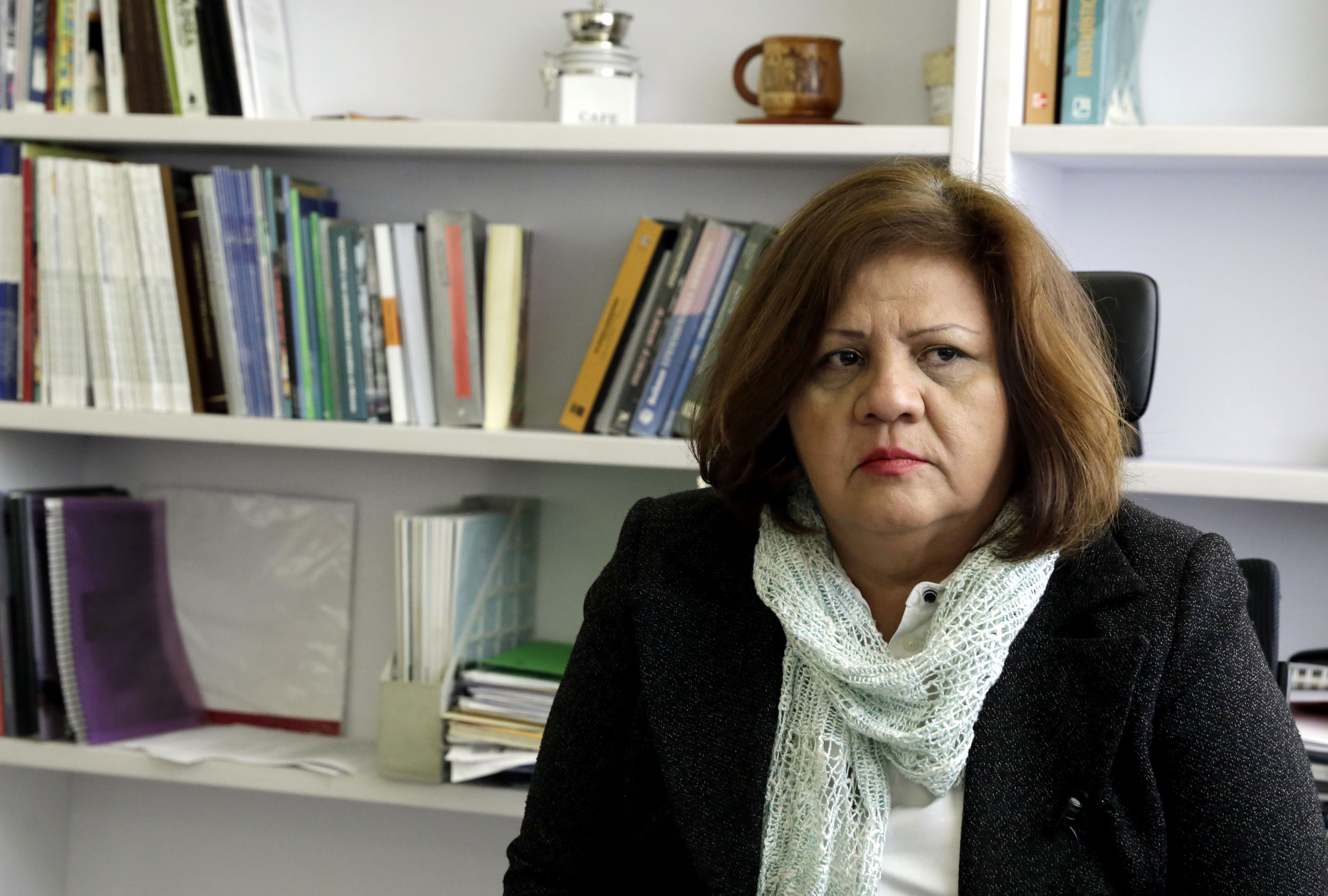 Dra. Genoveva Rizo, investigadora