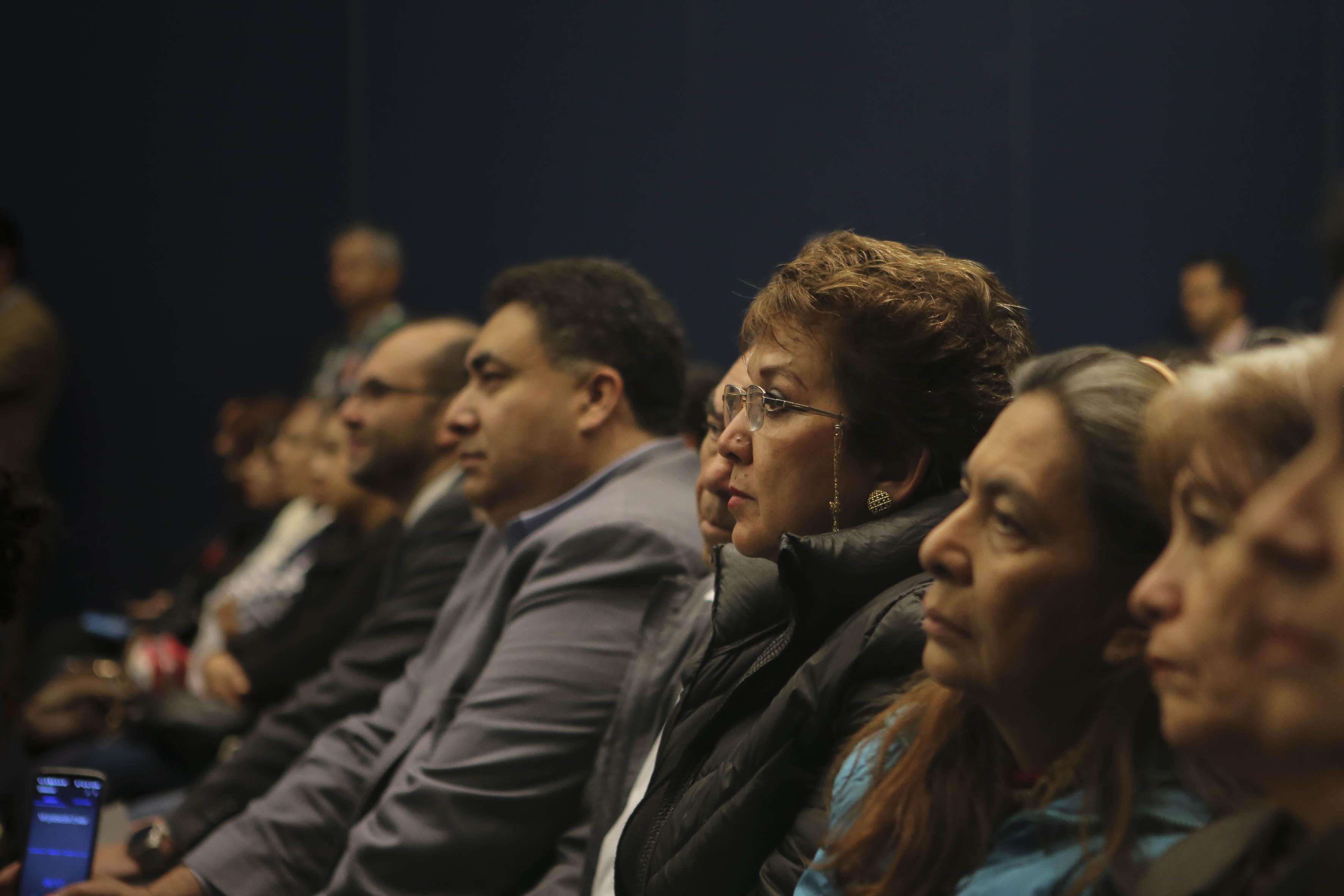 Asistentes a la conferencia