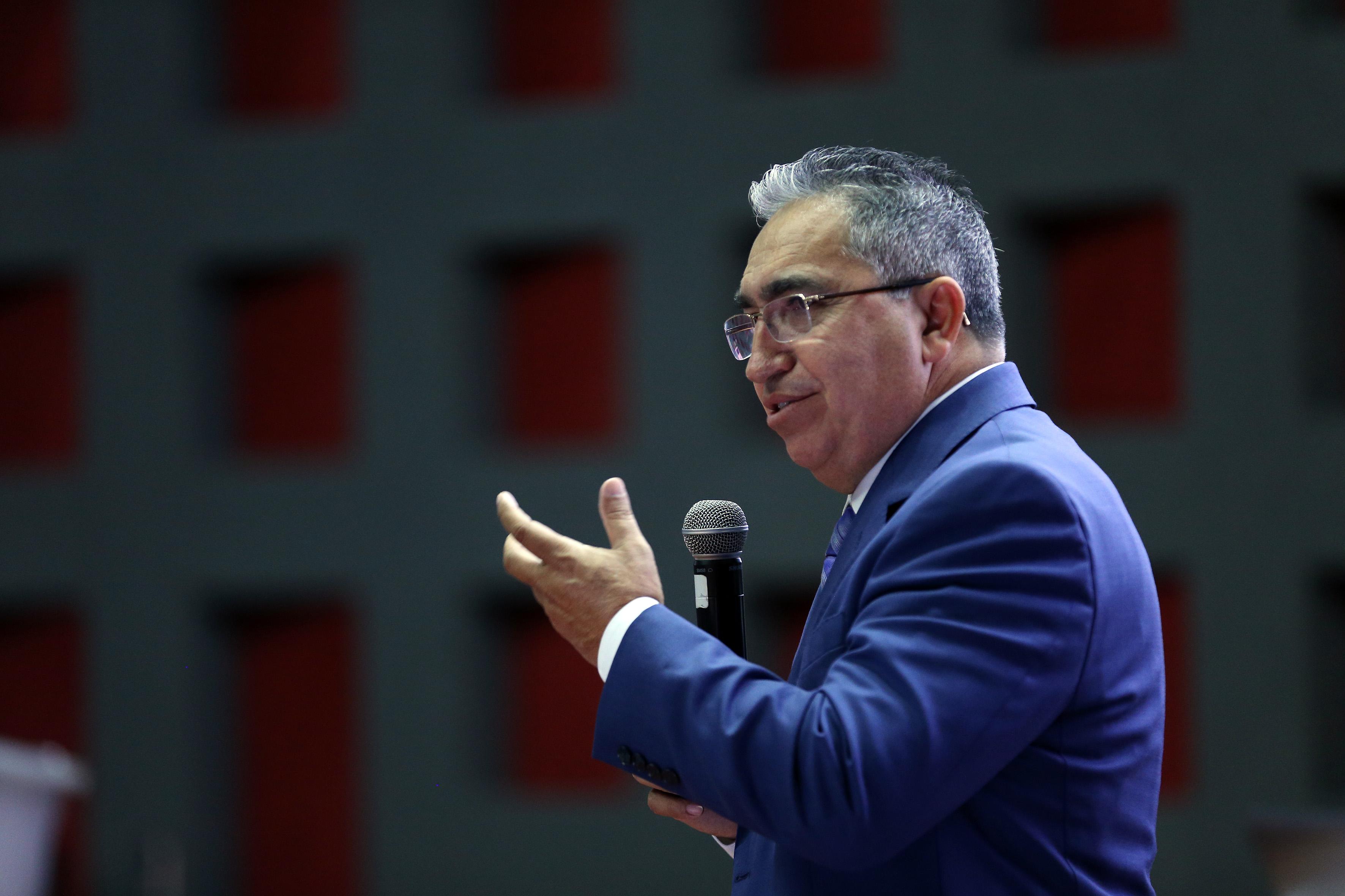 Director General del Observatorio Mexicano de Responsabilidad Social Universitaria  (Omersu), AC, Mtro. Juan de Dios Pérez Alayón