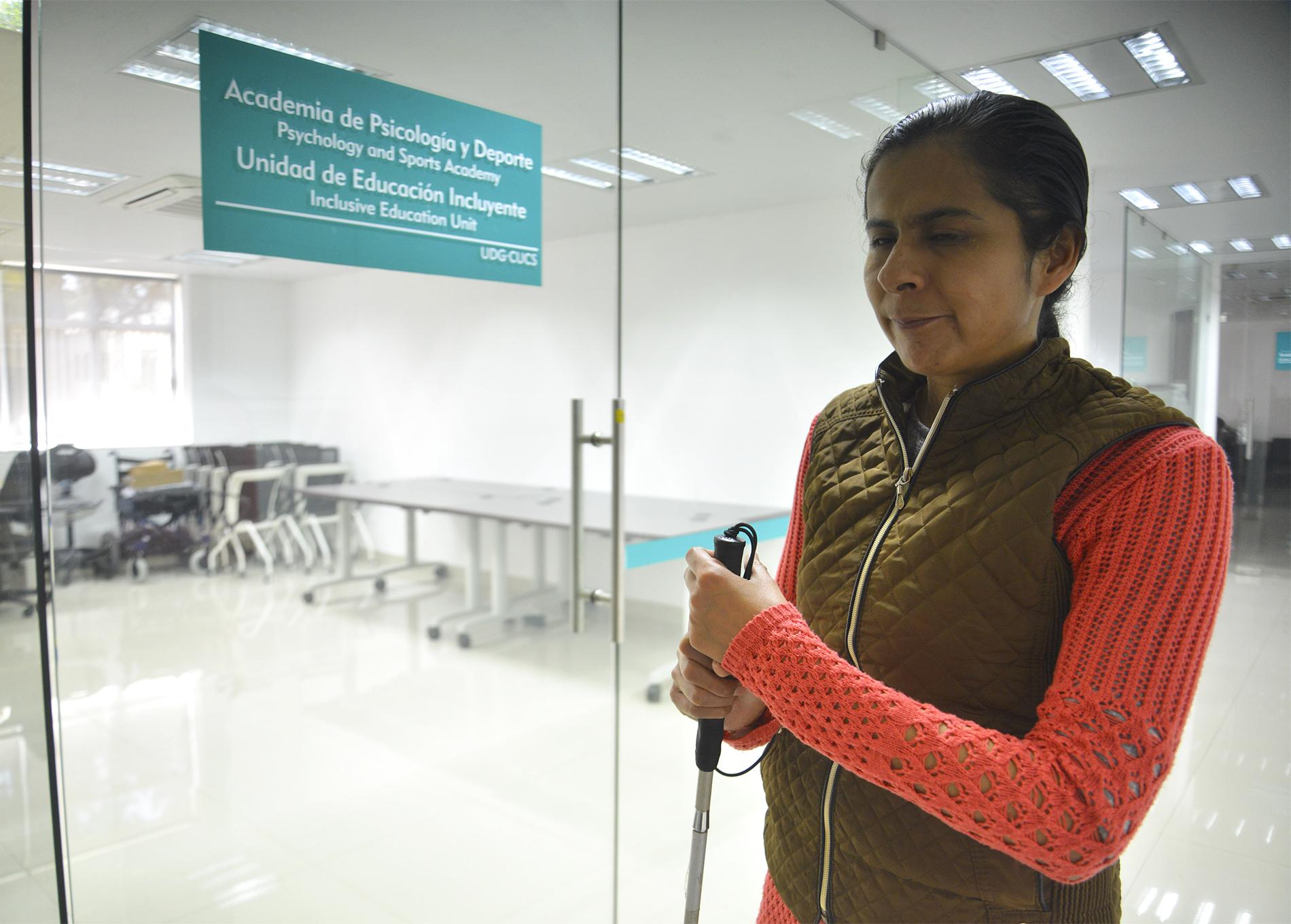Maribel Flores Vizcarraga, la responsable de la unidad