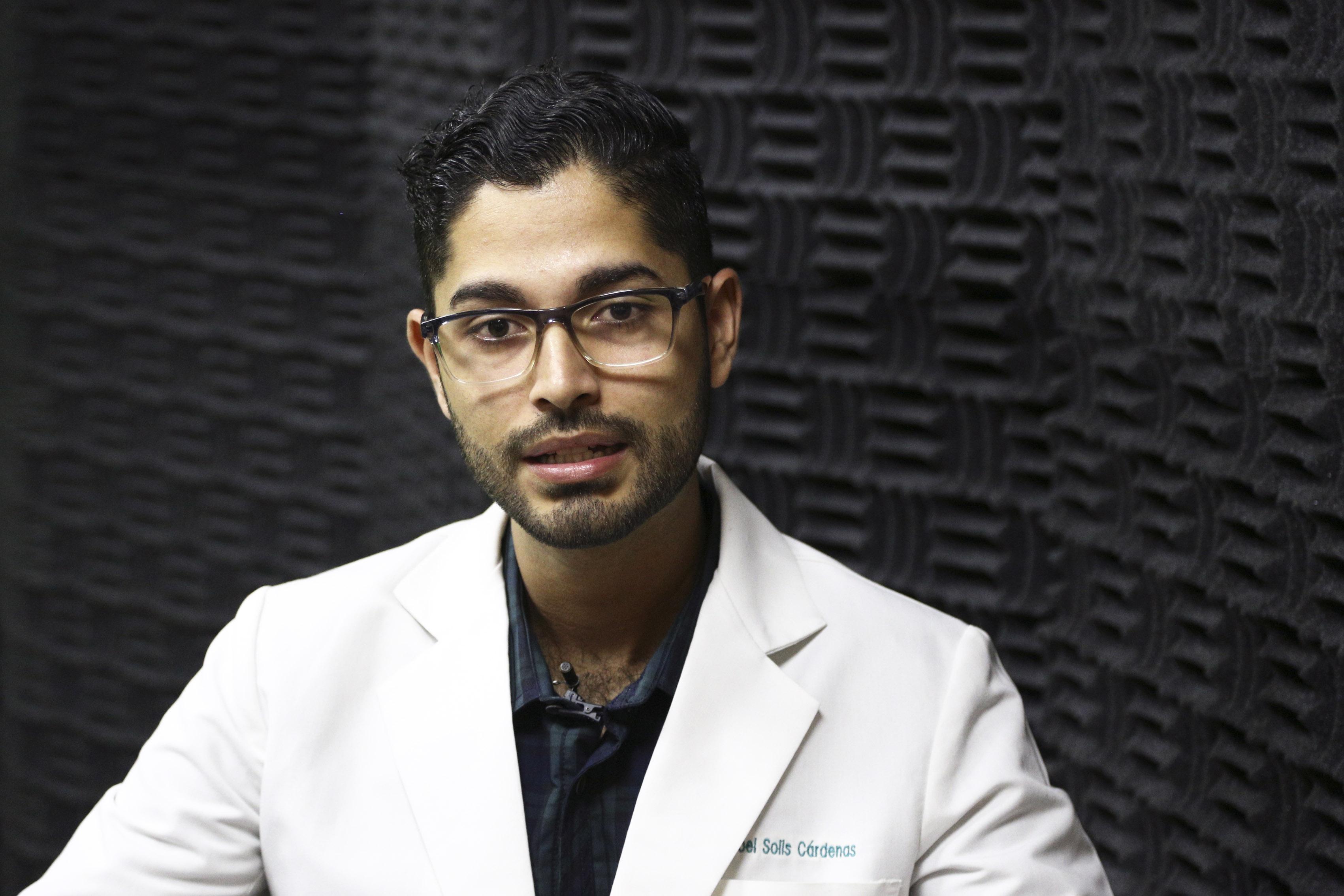 Dr. Iroel Solís Cárdenas, autor de la tesis