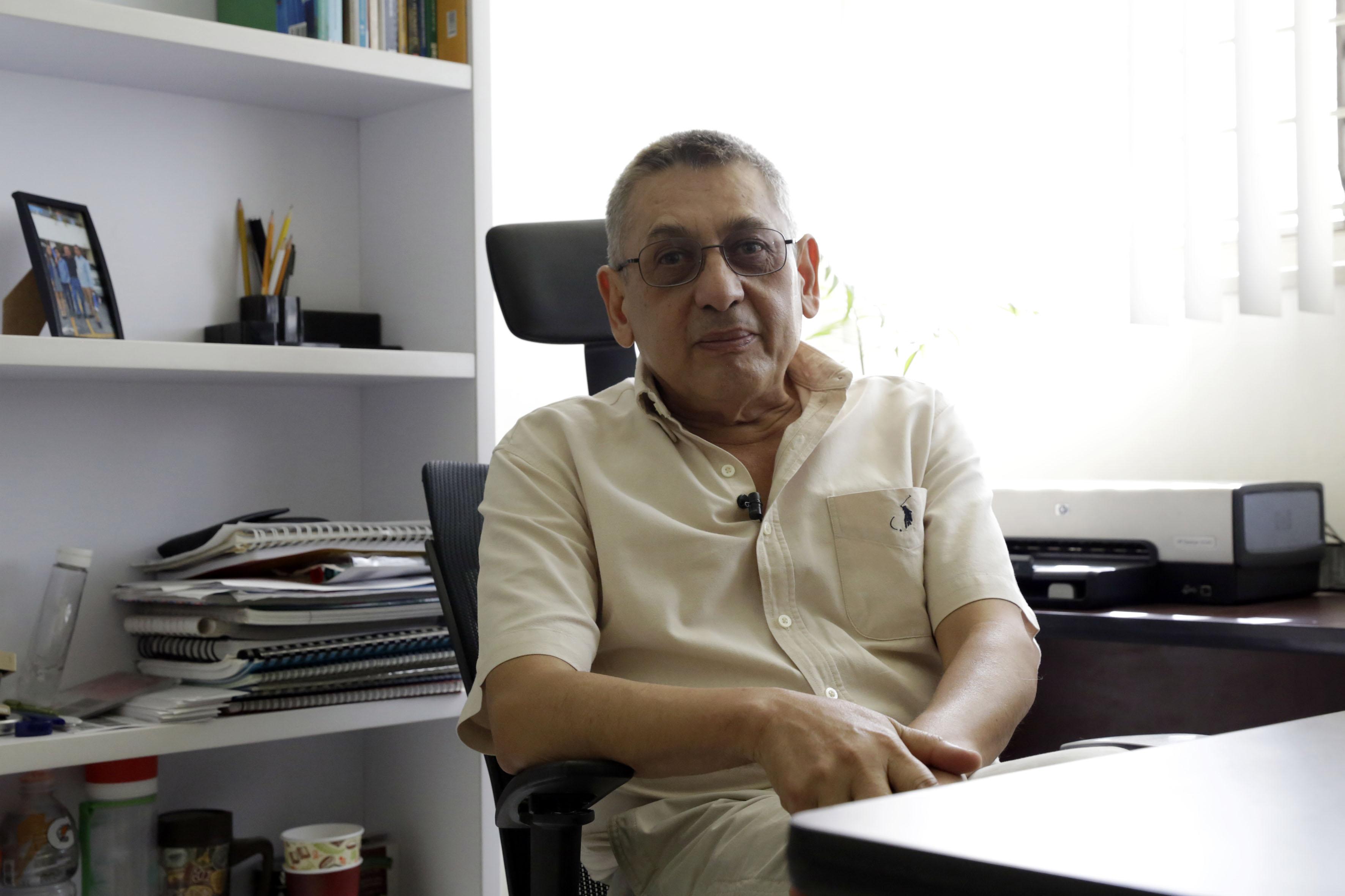 Dr. Joaquín García Estrada, investigador