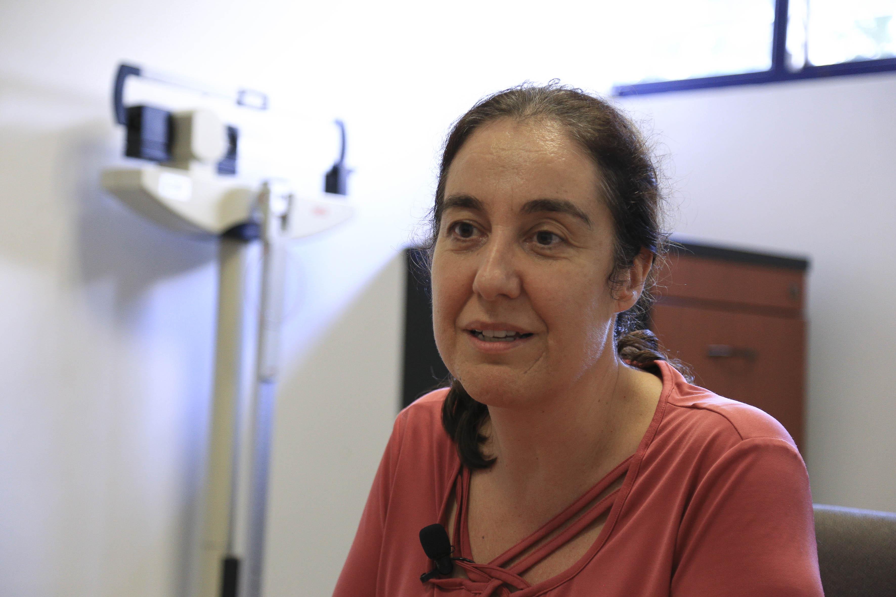 Dra. Bárbara Vizmanos, coordinadora de Investigación y promotora del Lactario CUCS