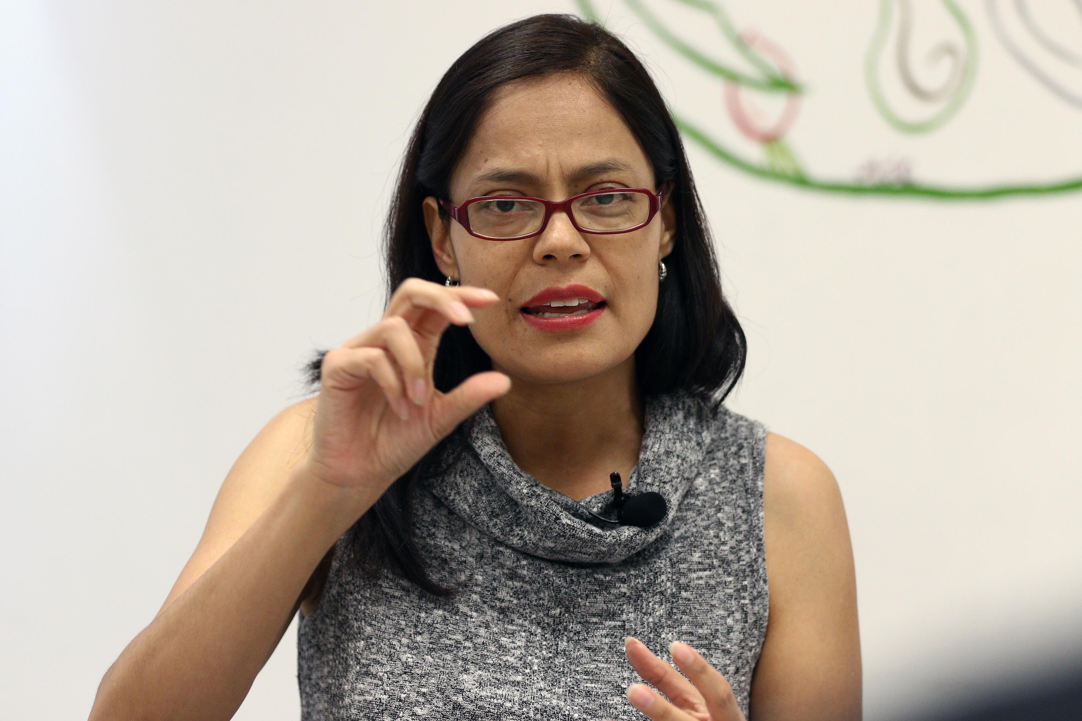 Mtra. Martha Betzaida Altamirano, en entrevista