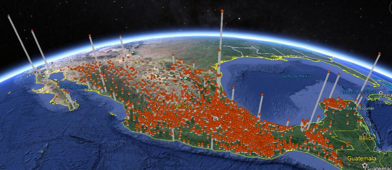 Mapa 2 Concentración de Casos por Cabecera Municipal al 26 de mayo