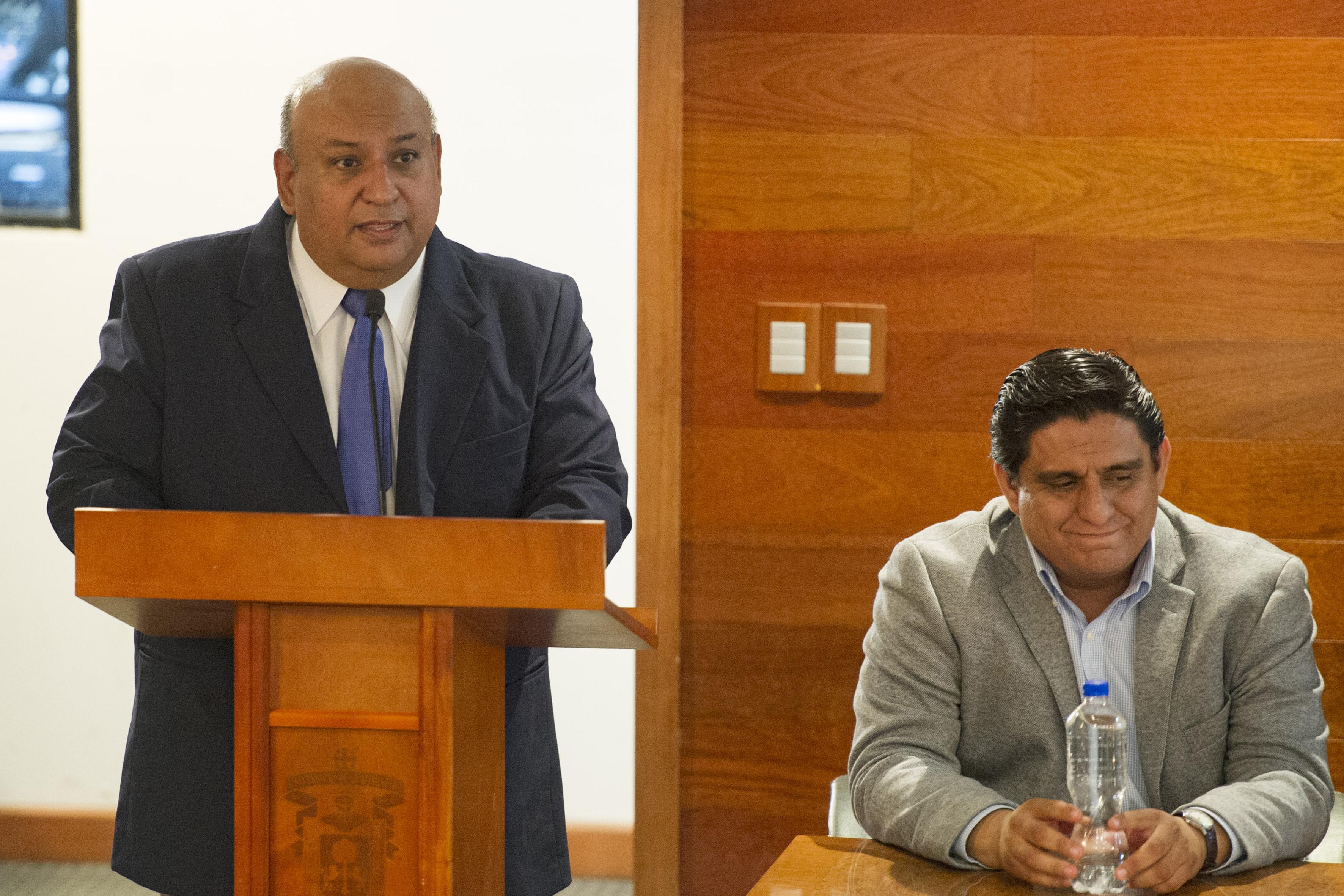 En el uso de la voz, el Mtro Francisco Gutiérrez Rodríguez