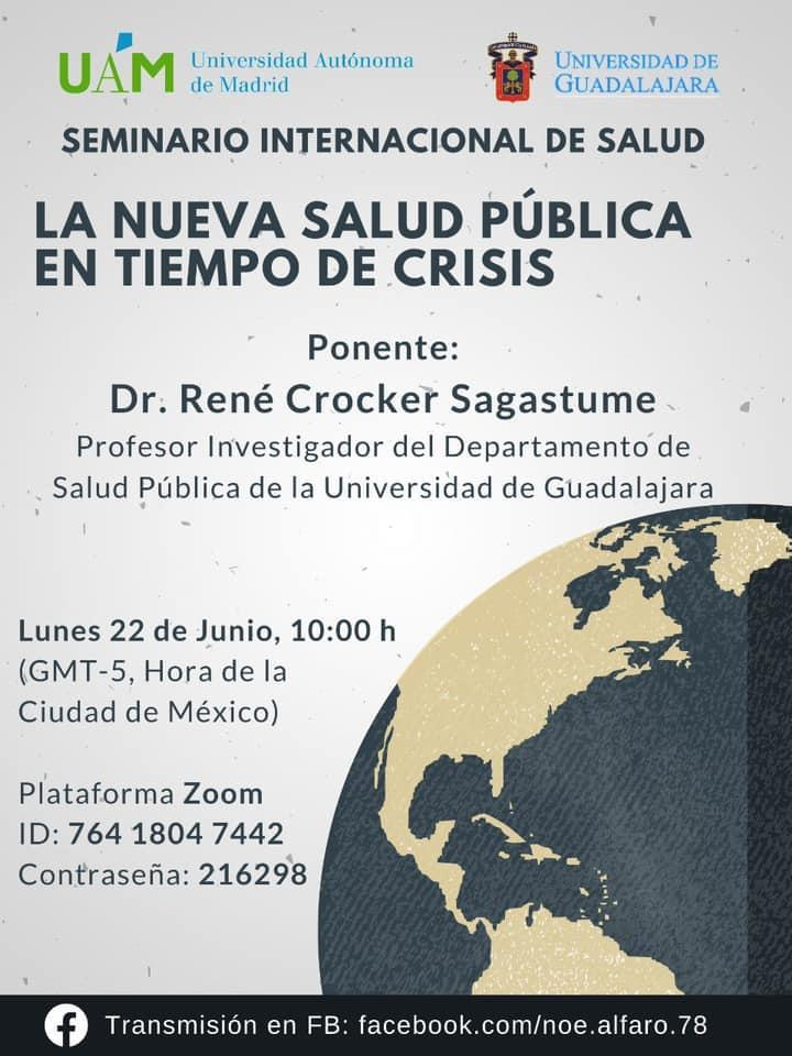 Banner publicitario de la conferencia